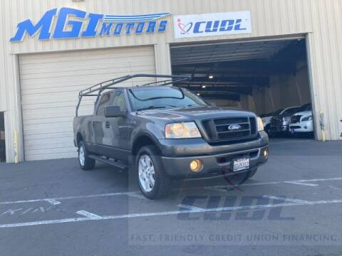 2007 Ford F-150 for sale at MGI Motors in Sacramento CA