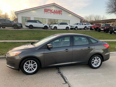 2017 Ford Focus for sale at Efkamp Auto Sales LLC in Des Moines IA