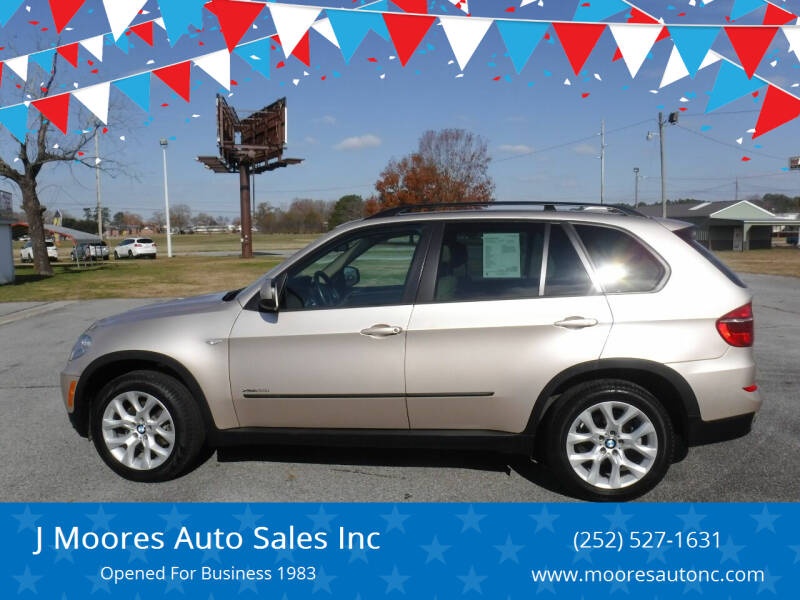 2013 BMW X5 for sale at J Moores Auto Sales Inc in Kinston NC