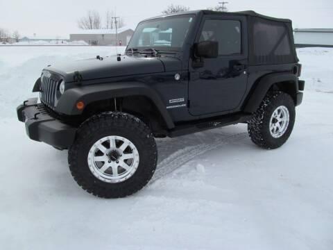 2013 Jeep Wrangler for sale at Flaherty's Hi-Tech Motorwerks in Albert Lea MN