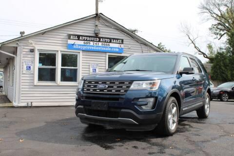 2016 Ford Explorer for sale at Deals N Wheels 306 in Burlington NJ