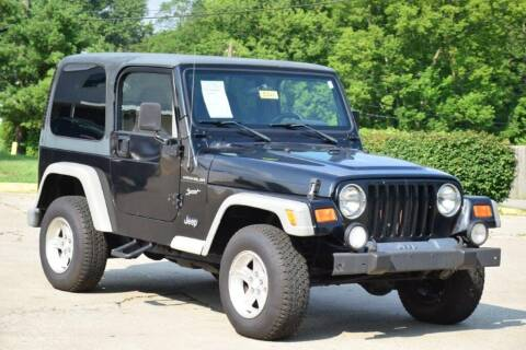 2002 Jeep Wrangler for sale at Digital Auto in Lexington KY