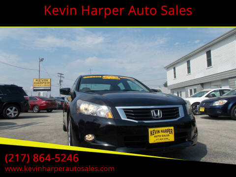 2009 Honda Accord for sale at Kevin Harper Auto Sales in Mount Zion IL