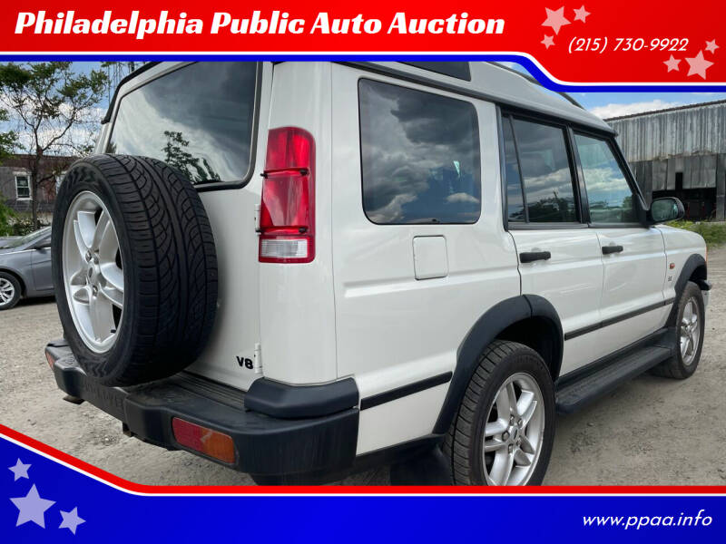 2002 Land Rover Discovery Series II for sale at Philadelphia Public Auto Auction in Philadelphia PA