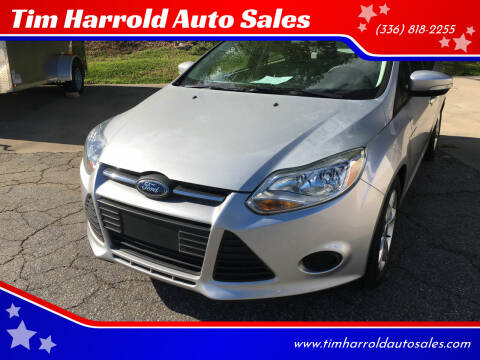 2014 Ford Focus for sale at Tim Harrold Auto Sales in Wilkesboro NC