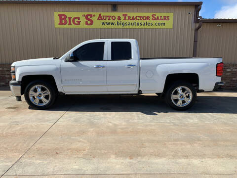 2014 Chevrolet Silverado 1500 for sale at BIG 'S' AUTO & TRACTOR SALES in Blanchard OK