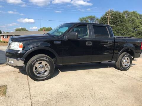 2005 Ford F-150 for sale at E Motors LLC in Anderson SC