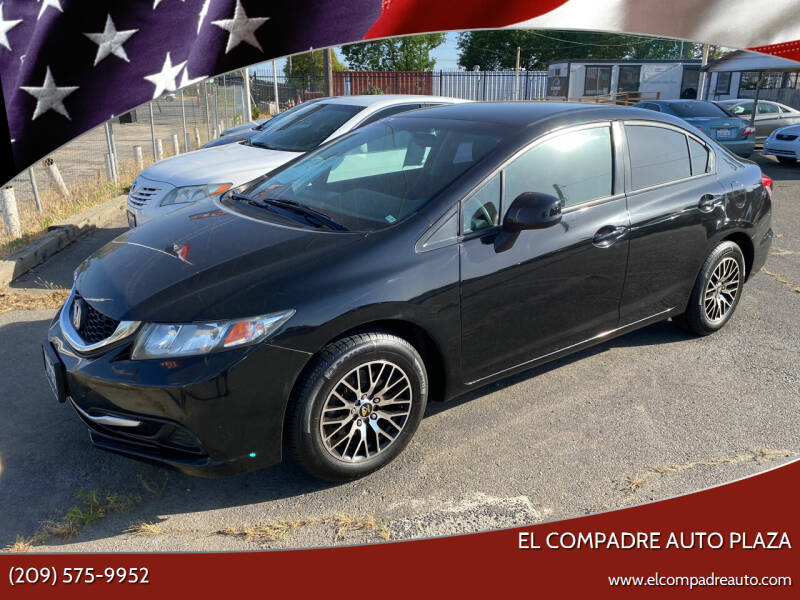 2013 Honda Civic for sale at El Compadre Auto Plaza in Modesto CA