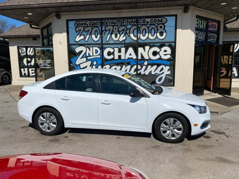 2015 Chevrolet Cruze for sale at Kentucky Auto Sales & Finance in Bowling Green KY