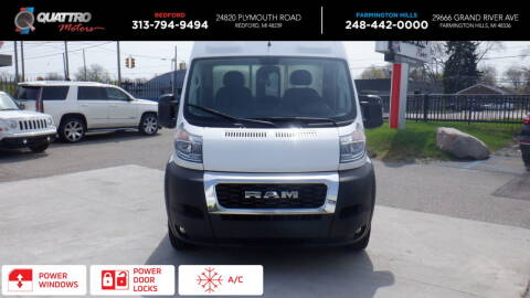 2020 RAM ProMaster Cargo for sale at Quattro Motors 2 - 1 in Redford MI