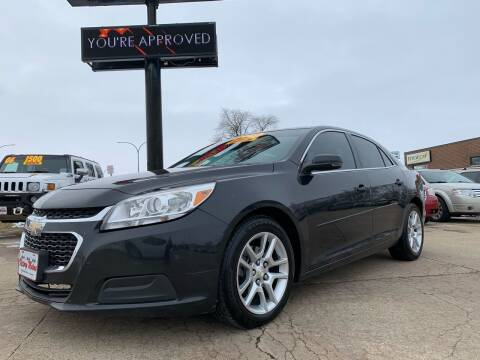 2014 Chevrolet Malibu for sale at Victory Motors in Waterloo IA