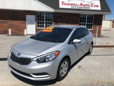 2016 Kia Forte for sale at tazewellauto.com in Tazewell TN