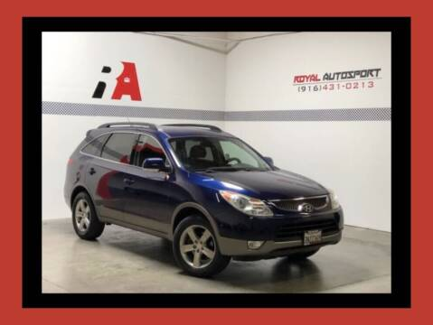 2008 Hyundai Veracruz for sale at Royal AutoSport in Sacramento CA