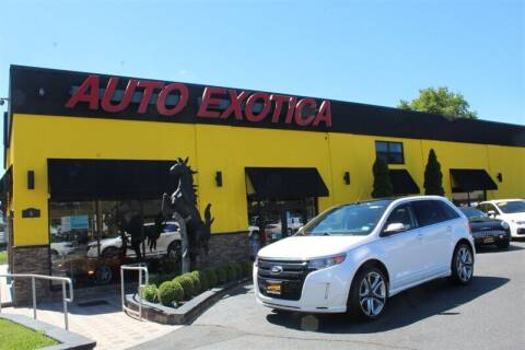 2013 Ford Edge for sale at Auto Exotica in Red Bank NJ