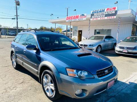 2005 Subaru Outback for sale at Dream Motors in Sacramento CA