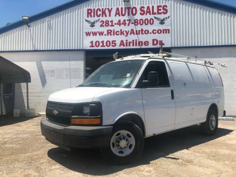 2009 Chevrolet Express Cargo for sale at Ricky Auto Sales in Houston TX
