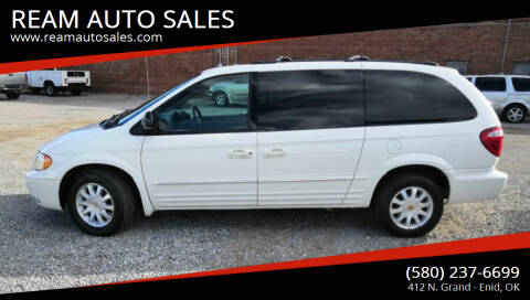 2003 Chrysler Town and Country for sale at REAM AUTO SALES in Enid OK