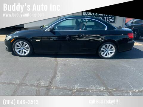 2013 BMW 3 Series for sale at Buddy's Auto Inc in Pendleton, SC