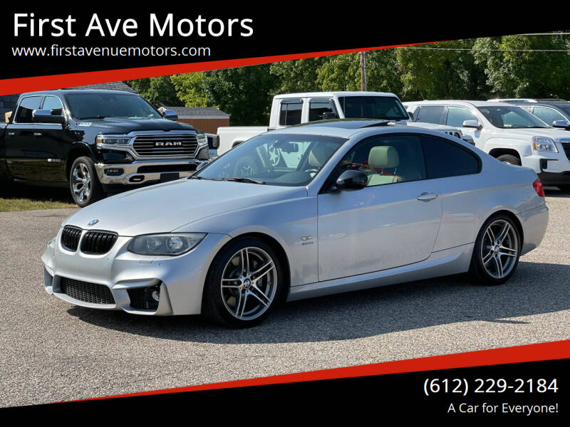 2011 BMW 3 Series for sale at First Ave Motors in Shakopee MN