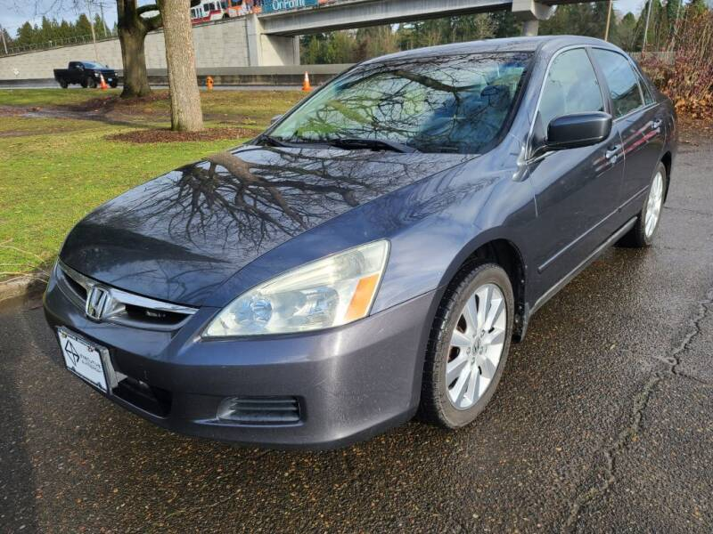 2007 Honda Accord for sale at EXECUTIVE AUTOSPORT in Portland OR