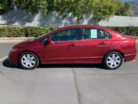 2007 Honda Civic for sale at BITTON'S AUTO SALES in Ogden UT