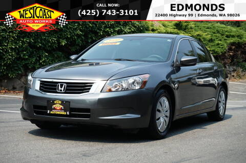 2010 Honda Accord for sale at West Coast Auto Works in Edmonds WA