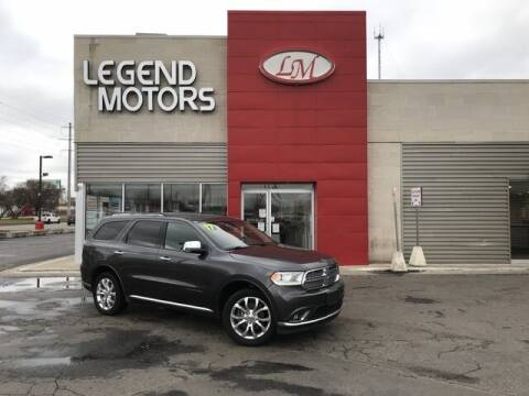 2017 Dodge Durango for sale at Legend Motors of Waterford - Legend Motors of Ferndale in Ferndale MI