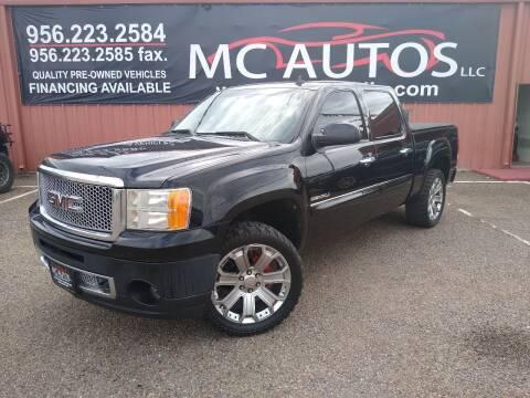 2012 GMC Sierra 1500 for sale at MC Autos LLC in Pharr TX