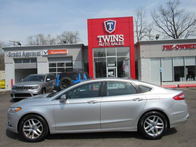 2013 Ford Fusion for sale at Twins Auto Sales Inc in Detroit MI