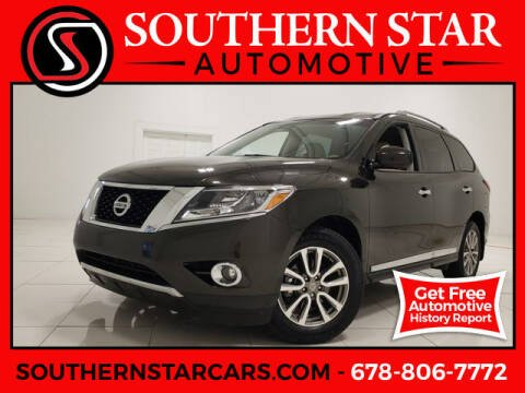 2015 Nissan Pathfinder for sale at Southern Star Automotive, Inc. in Duluth GA