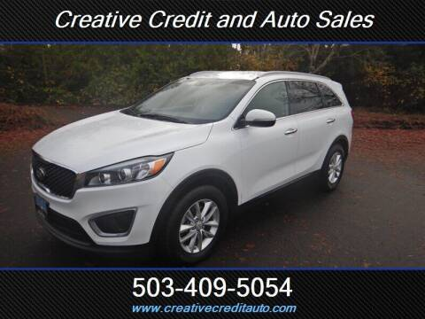 2016 Kia Sorento for sale at Creative Credit & Auto Sales in Salem OR
