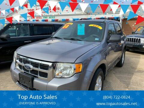 2008 Ford Escape for sale at Top Auto Sales in Petersburg VA