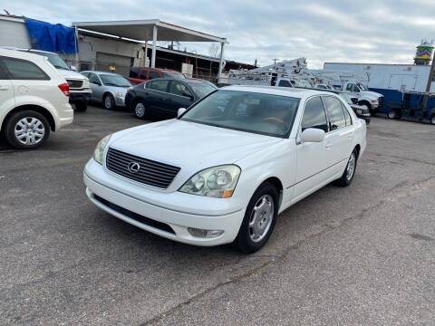 2002 Lexus LS 430 for sale at Memphis Auto Sales in Memphis TN