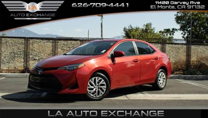 2019 Toyota Corolla for sale in El Monte, CA