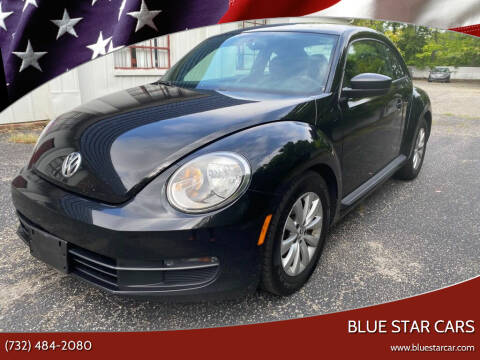 2015 Volkswagen Beetle for sale at Blue Star Cars in Jamesburg NJ