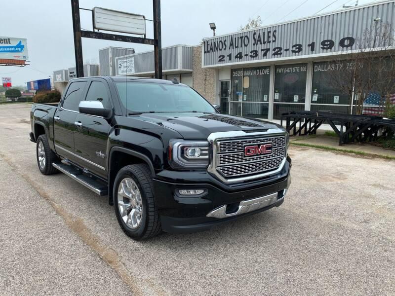 2018 GMC Sierra 1500 for sale at LLANOS AUTO SALES LLC in Dallas TX