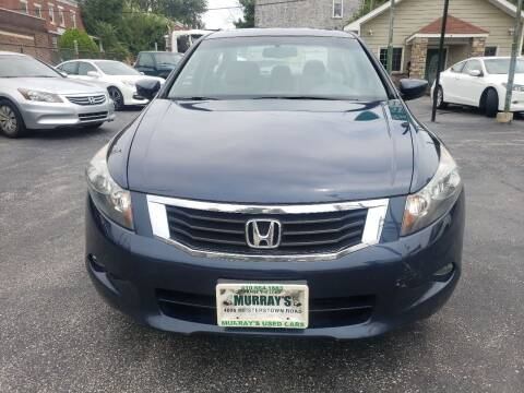 2010 Honda Accord for sale at Murrays Used Cars in Baltimore MD