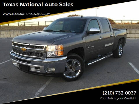 2013 Chevrolet Silverado 1500 for sale at Texas National Auto Sales in San Antonio TX