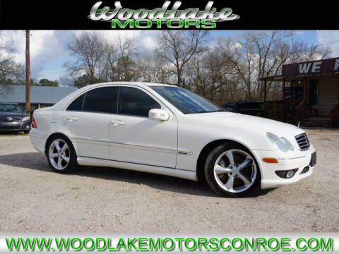 2006 Mercedes-Benz C-Class for sale at WOODLAKE MOTORS in Conroe TX