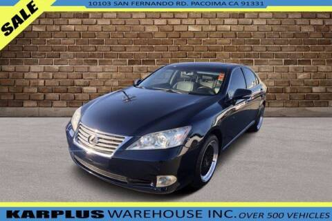 2012 Lexus ES 350 for sale at Karplus Warehouse in Pacoima CA