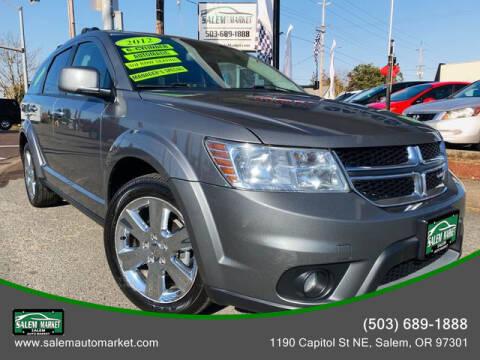 2012 Dodge Journey for sale at Salem Auto Market in Salem OR