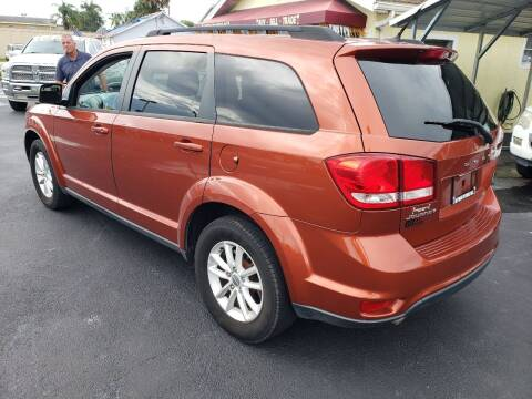 2013 Dodge Journey for sale at ANYTHING ON WHEELS INC in Deland FL