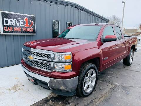2015 Chevrolet Silverado 1500 for sale at Drive 1 Car & Truck in Springfield OH