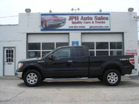 2010 Ford F-150 for sale at JPH Auto Sales in Eastlake OH