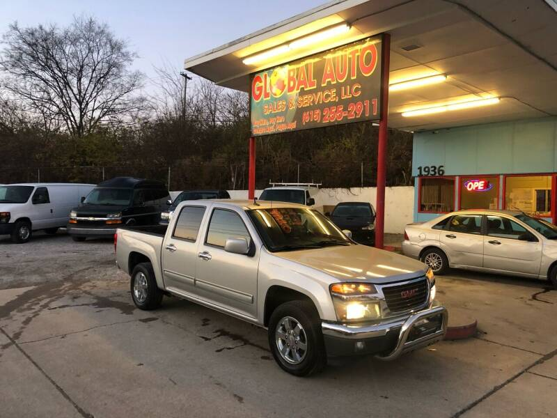 2010 GMC Canyon for sale at Global Auto Sales and Service in Nashville TN