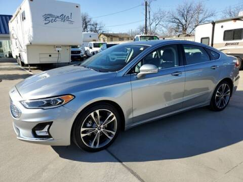 2020 Ford Fusion for sale at Kell Auto Sales, Inc - Grace Street in Wichita Falls TX