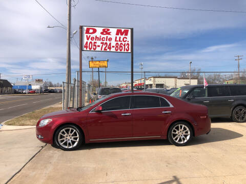 2010 Chevrolet Malibu for sale at D & M Vehicle LLC in Oklahoma City OK