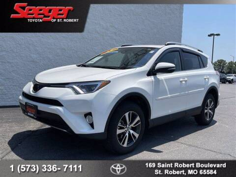 2018 Toyota RAV4 for sale at SEEGER TOYOTA OF ST ROBERT in St Robert MO