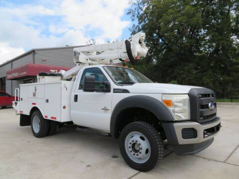2011 Ford F-550 for sale at TIDWELL MOTOR in Houston TX