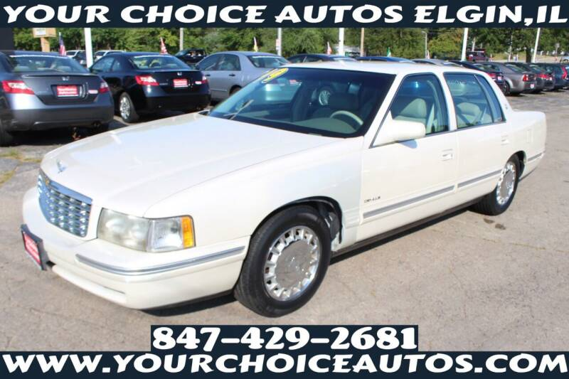 1999 Cadillac DeVille for sale at Your Choice Autos - Elgin in Elgin IL